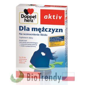 BioTrendy - Doppelherz aktiv Dla mężczyzn PL - tabletki na sprawnosc seksualna – tabletki na potencje