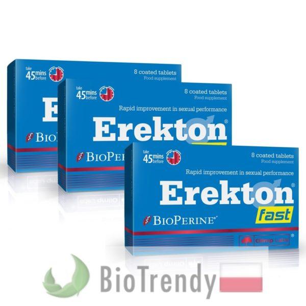 BioTrendy - Erekton Fast PL - tabletki na erekcje – tabletki na potencje