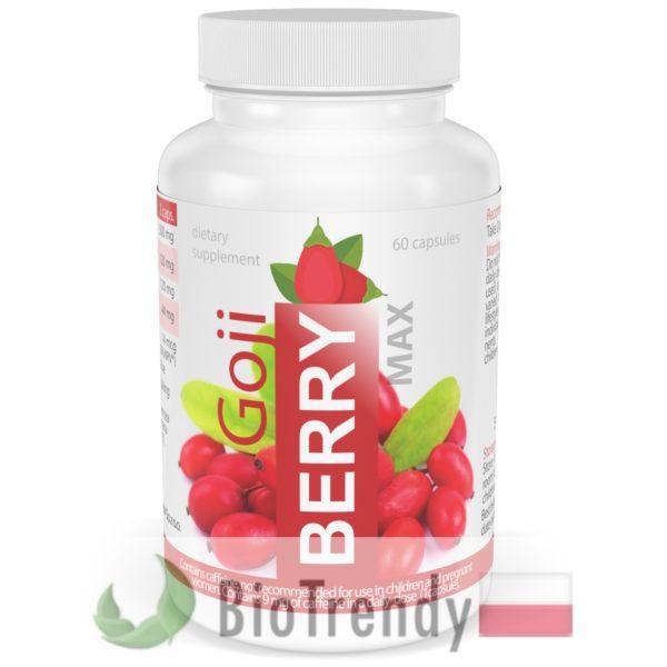 BioTrendy - Goji Berry Max PL - tabletki na odchudzanie - tabletki odchudzajace