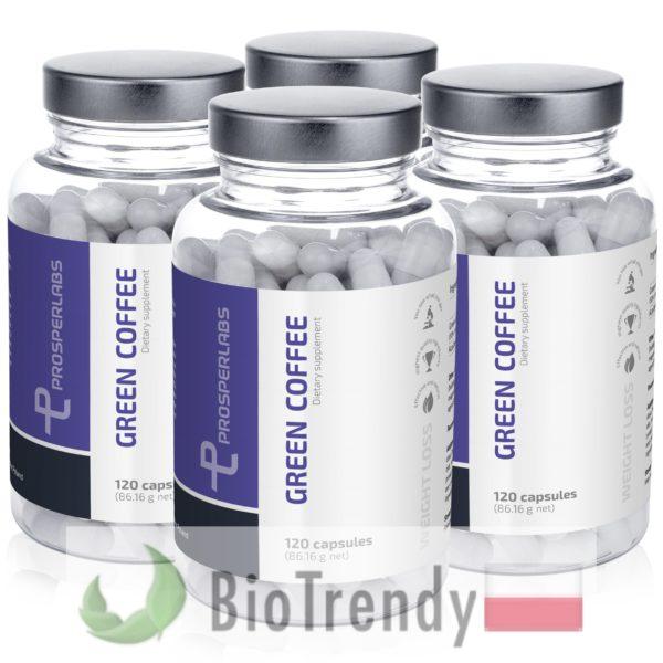 BioTrendy - Green Coffee Prosper Labs PL - tabletki na odchudzanie - tabletki odchudzajace