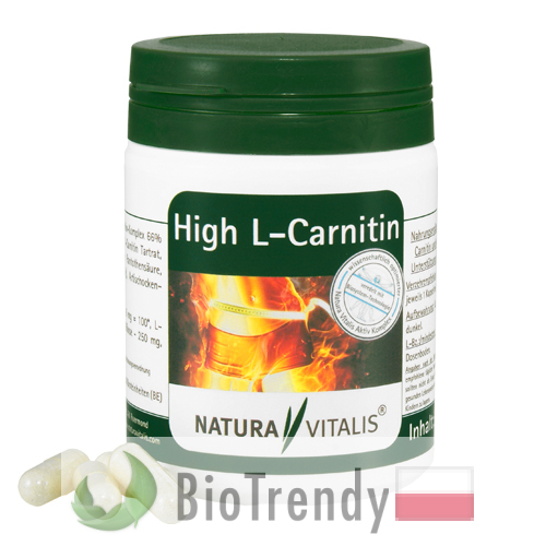 BioTrendy - L-karnityna High PL - tabletki na odchudzanie - tabletki odchudzajace