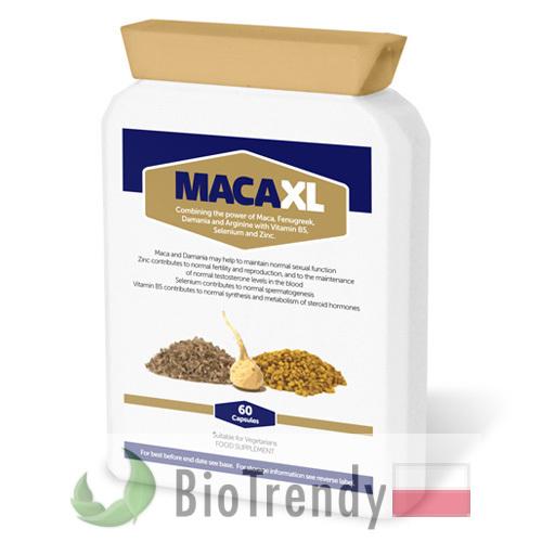 BioTrendy - Maca XL PL - tabletki na sprawnosc seksualna – tabletki na potencje