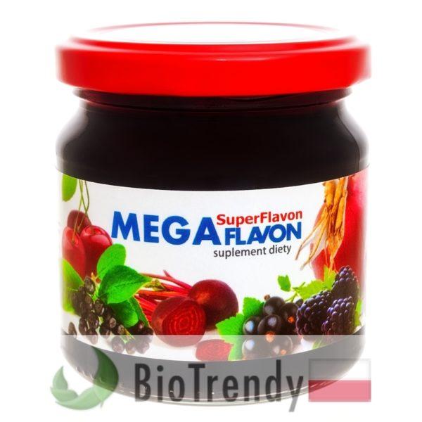 BioTrendy - Mega Flavon PL - tabletki na oczyszczanie organizmu - oczyszczanie organizmu z toksyn