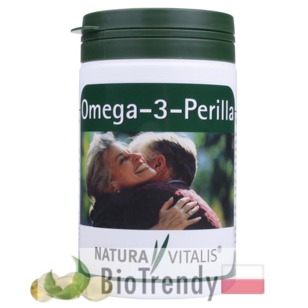 BioTrendy - Omega 3 Perilla PL - nienasycone kwasy tłuszczowe - kwasy tłuszczowe omega 3