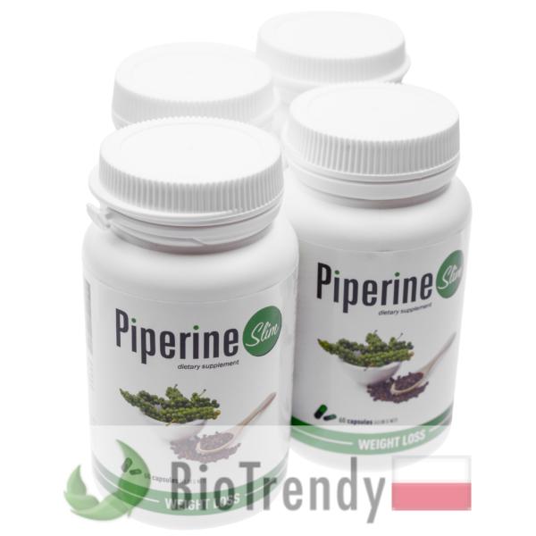 BioTrendy - Piperine Slim PL - tabletki na odchudzanie - tabletki odchudzajace