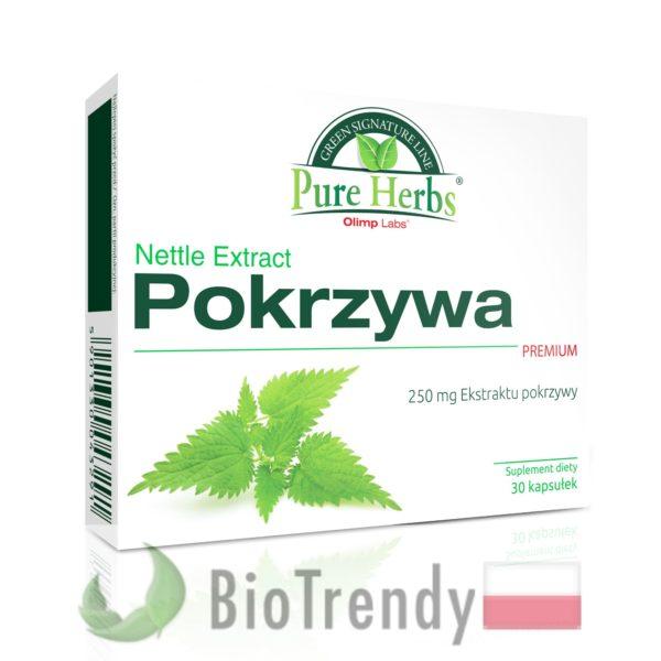 BioTrendy - Pokrzywa premium PL - tabletki na oczyszczanie organizmu - oczyszczanie organizmu z toksyn