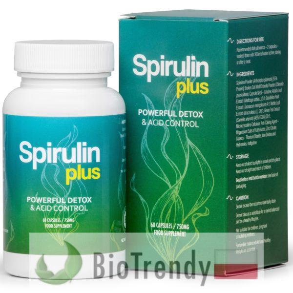 BioTrendy - Spirulin Plus PL - tabletki na oczyszczanie organizmu - oczyszczanie organizmu z toksyn
