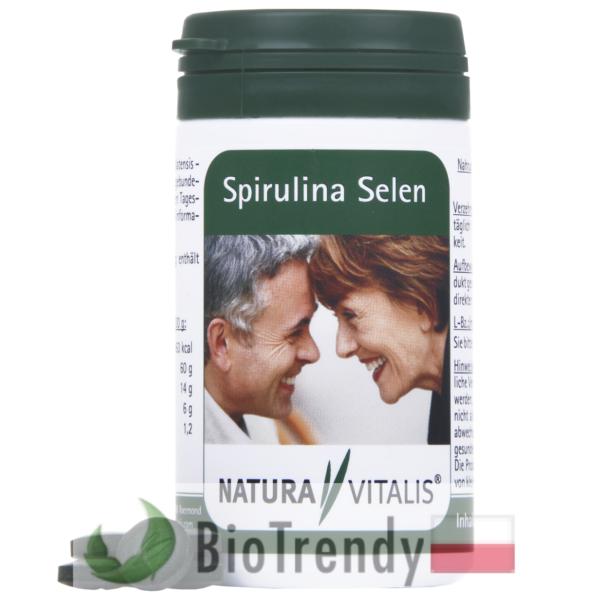 BioTrendy - Spirulina + Selen PL - tabletki na oczyszczanie organizmu - oczyszczanie organizmu z toksyn