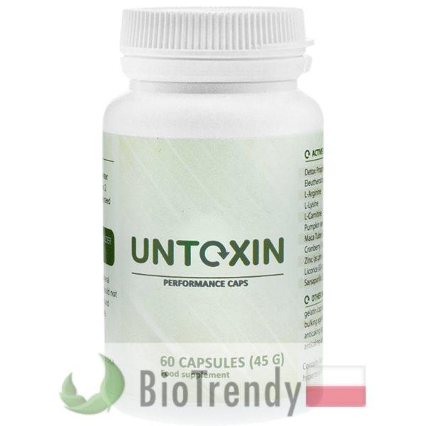 Biotredny - Untoxin PL - tabletki na oczyszczanie organizmu - oczyszczanie organizmu z toksyn