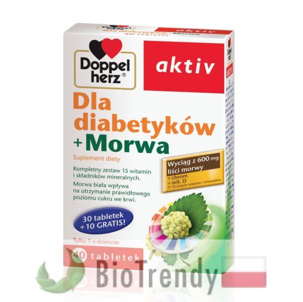 BioTrendy - Doppelherz aktiv Dla diabetyków + Morwa PL - tabletki z witaminami – tabletki z mineralami