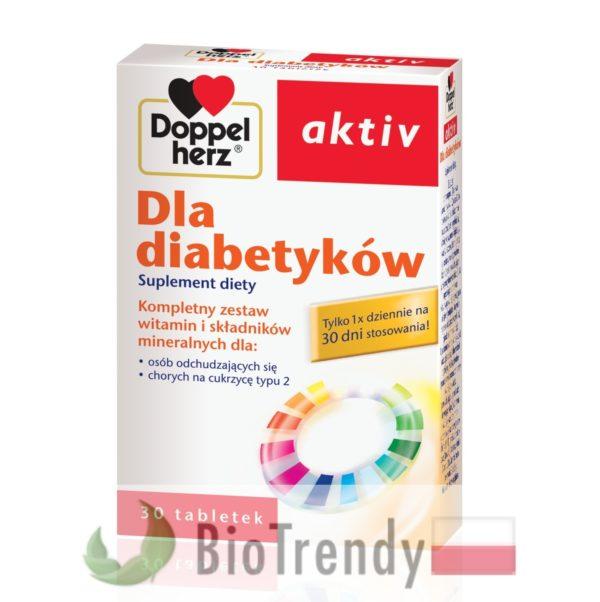 BioTrendy - Doppelherz aktiv Dla diabetyków PL - tabletki z witaminami – tabletki z mineralami