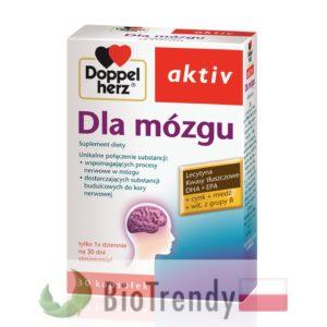BioTrendy - Doppelherz aktiv Dla mózgu PL - tabletki na koncentracje – tabletki na pamiec
