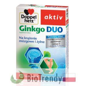 BioTrendy - Doppelherz aktiv Ginkgo DUO PL - tabletki na koncentracje – tabletki na pamiec