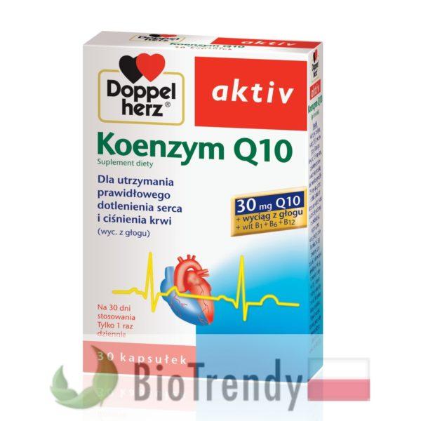 BioTrendy - Doppelherz aktiv Koenzym Q10 PL - tabletki na serce – tabletki na uklad krazenia