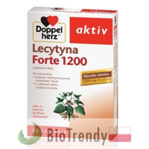 BioTrendy - Doppelherz aktiv Lecytyna Forte 1200 PL - tabletki na koncentracje – tabletki na pamiec