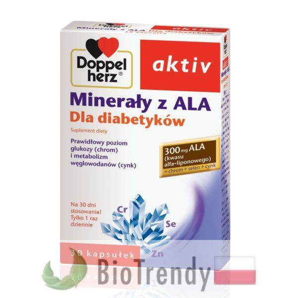 BioTrendy - Doppelherz aktiv Minerały z ALA PL - tabletki z witaminami – tabletki z mineralami