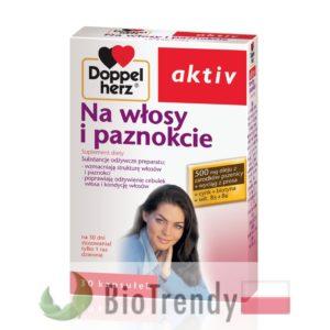 BioTrendy - Doppelherz aktiv Na Włosy i Paznokcie PL - tabletki na wlosy – wypadanie wlosow - mocne wlosy