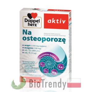 BioTrendy - Doppelherz aktiv Na osteoporozę PL - tabletki wzmacniajace kosci - tabletki wzmacniajace uklad kostny