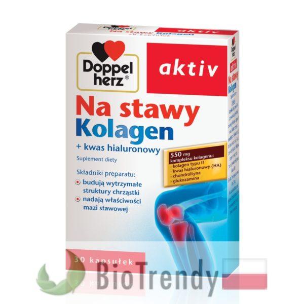 BioTrendy - Doppelherz aktiv Na stawy Kolagen PL - tabletki na stawy - regeneracja chrzastki stawowej