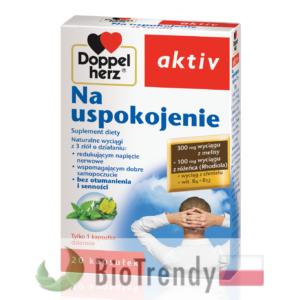 BioTrendy - Doppelherz aktiv Na uspokojenie PL - tabletki na uspokojenie – tabletki na stress