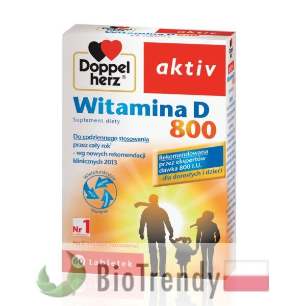 BioTrendy - Doppelherz aktiv Witamina D 800 PL - tabletki z witaminami – tabletki z mineralami