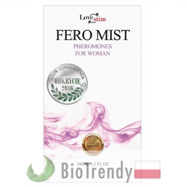 BioTrendy - Fero Mist for Women PL - feromony dla kobiet – damskie feromony