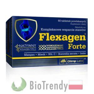 BioTrendy - Flexagen Forte PL - tabletki na stawy - regeneracja chrzastki stawowej