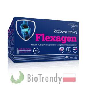 BioTrendy - Flexagen PL - tabletki na stawy - regeneracja chrzastki stawowej