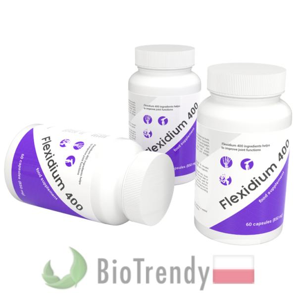 BioTrendy - Flexidium 400 PL - tabletki na stawy - regeneracja chrzastki stawowej