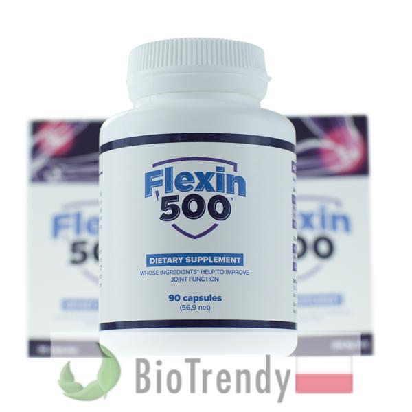 BioTrendy - Flexin500 PL - tabletki na stawy - regeneracja chrzastki stawowej