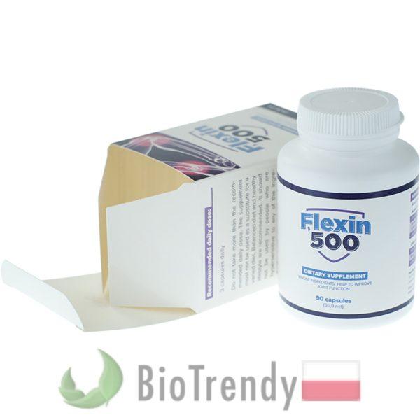 BioTrendy - Flexin500 5 PL - tabletki na stawy - regeneracja chrzastki stawowej