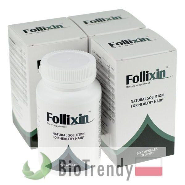 BioTrendy - Follixin PL - tabletki na wlosy – wypadanie wlosow - mocne wlosy
