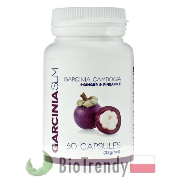 BioTrendy - Garcinia SLM PL - tabletki na odchudzanie - tabletki odchudzajace