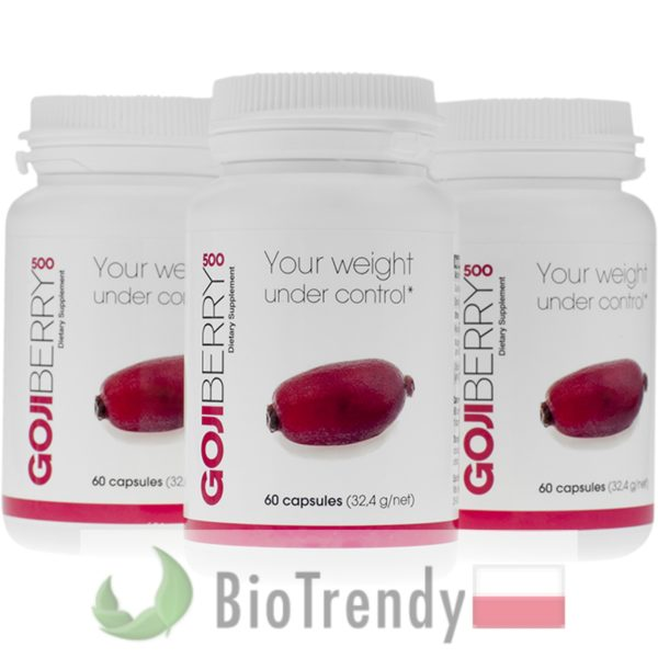 BioTrendy - Gojiberry 500 PL - tabletki na odchudzanie - tabletki odchudzajace