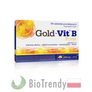BioTrendy - Gold-Vit B Forte PL - tabletki z witaminami – tabletki z mineralami