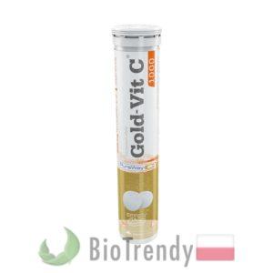 BioTrendy - Gold-Vit C 1000 PL - tabletki z witaminami – tabletki z mineralami