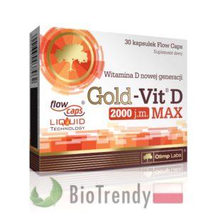 BioTrendy - Gold-Vit D MAX PL - tabletki z witaminami – tabletki z mineralami