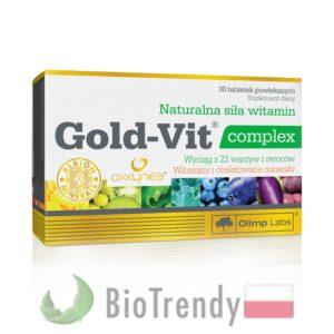 BioTrendy - Gold-Vit complex PL - tabletki z witaminami – tabletki z mineralami