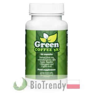 BioTrendy - Green Coffee 5K PL - tabletki na odchudzanie - tabletki odchudzajace