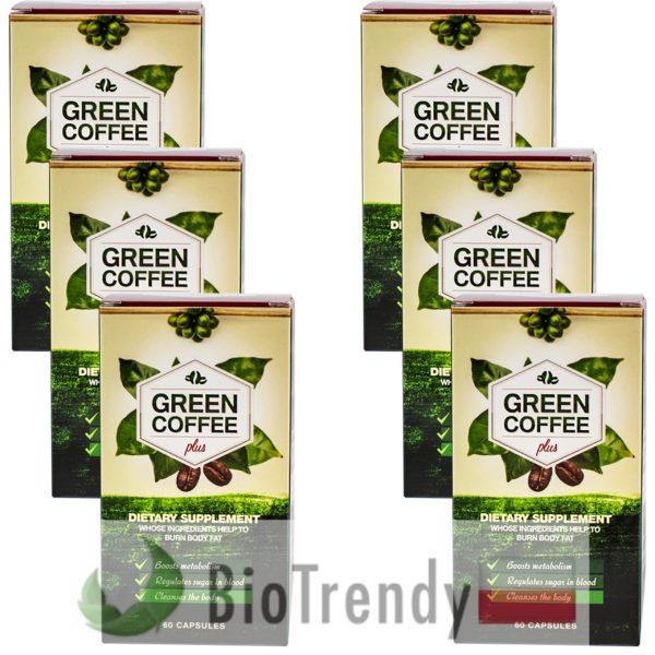 BioTrendy - Green Coffee Plus PL - tabletki na odchudzanie - tabletki odchudzajace