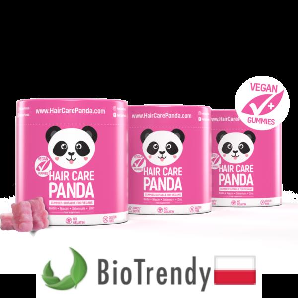 BioTrendy - Hair Care Panda PL - tabletki na wlosy – wypadanie wlosow - mocne wlosy