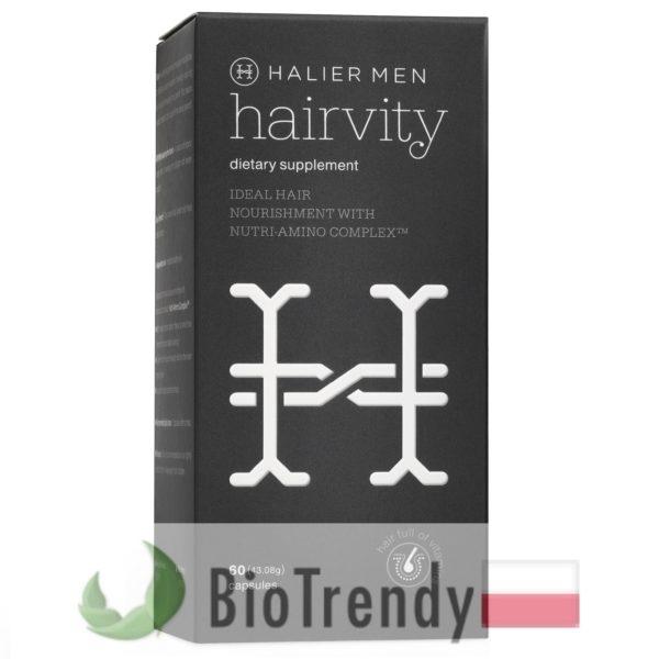 BioTrendy - Hairvity Men PL - tabletki na wlosy – wypadanie wlosow - mocne wlosy