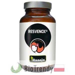 BioTrendy - Hanoju Resvenox PL - tabletki na zmarszczki – tabletki na stres oksydacyjny