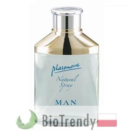 BioTrendy - Hot Man Natural Spray PL - feromony dla mezczyzn – meskie feromony