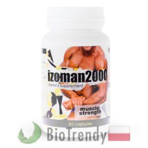 BioTrendy - Izoman 2000 PL - tabletki na przyrost masy miesniowej – tabletki na mase miesniowa