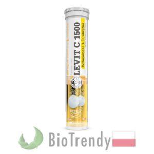 BioTrendy - LEVIT C 1500 PL - tabletki z witaminami – tabletki z mineralami