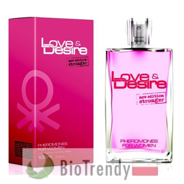 BioTrendy - Love & Desire PL - feromony dla kobiet – damskie feromony