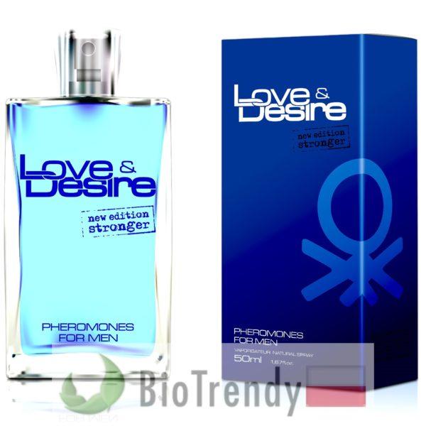 BioTrendy - Love & Desire męskie PL - feromony dla mezczyzn – meskie feromony