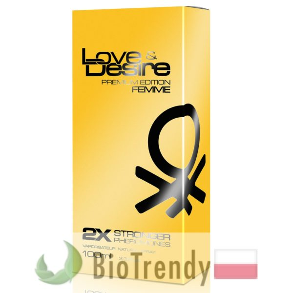 BioTrendy - Love&Desire Premium Edition damskie PL - feromony dla kobiet – damskie feromony