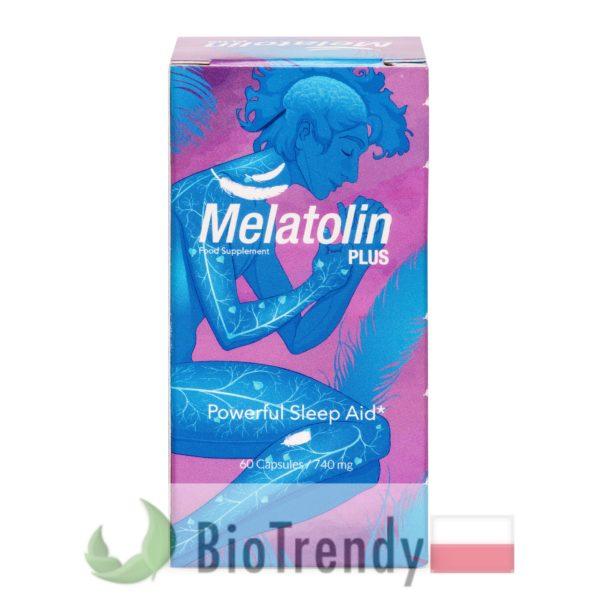 BioTrendy - Melatolin Plus PL - tabletki na uspokojenie – tabletki na stress